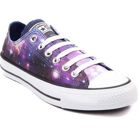6c82eaf5a449 Converse Shoes - Galaxy Converse All Star Low Top Chuck Taylors